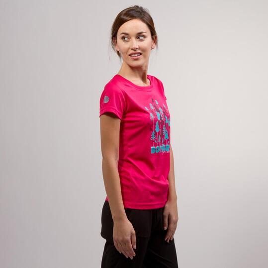 Camiseta Fucsia BORIKEN Mujer