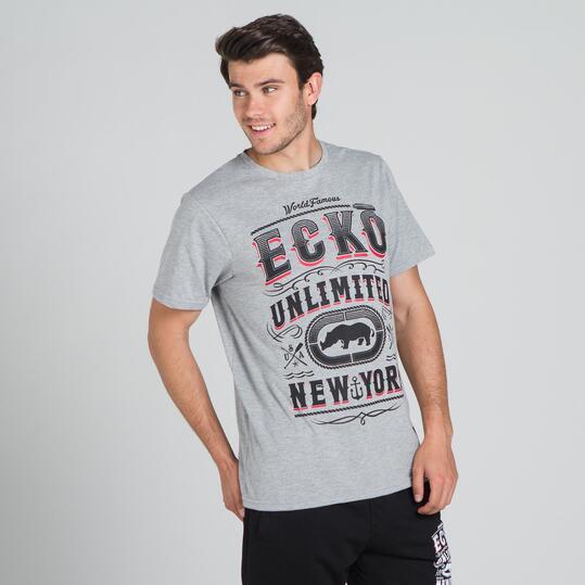 ECKO PADOCK Camiseta Gris Hombre