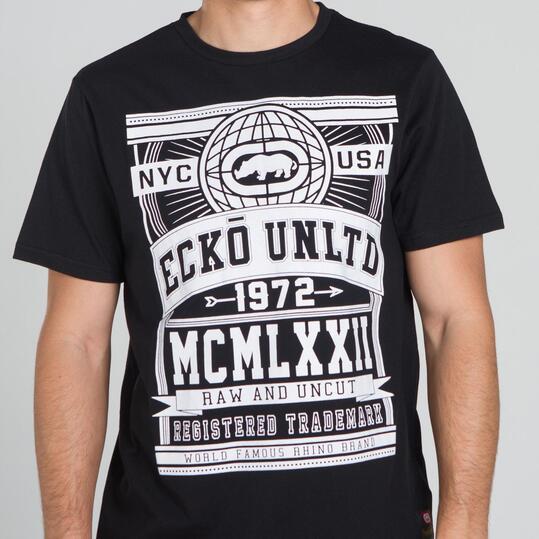 ECKO GLOBE Camiseta Gris Hombre
