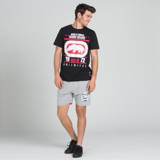 ECKO RANGER Camiseta Negra Hombre