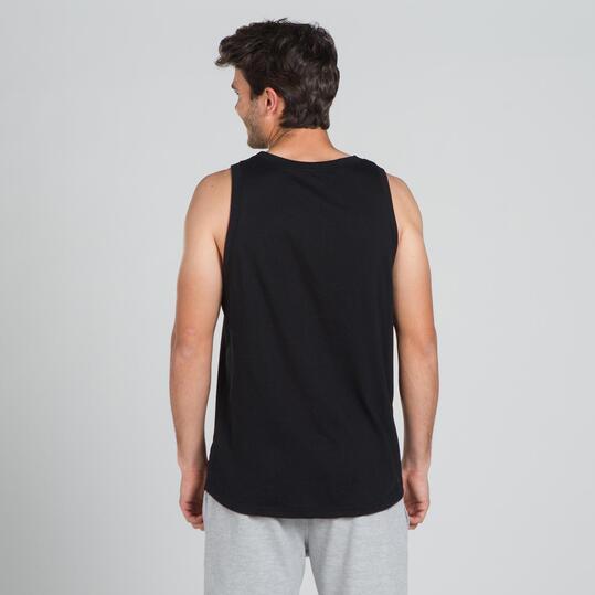 ECKO BELMONT Camiseta Tirantes Negro Hombre