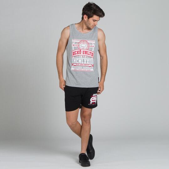 ECKO FIELDSTON Camiseta Tirantes Gris Hombre