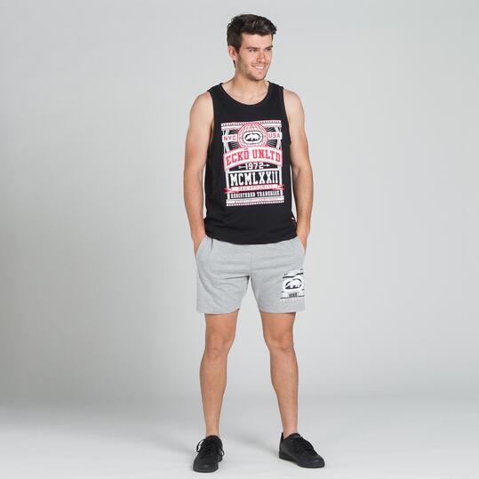 ECKO FIELDSTON Camiseta Tirantes Negro Hombre
