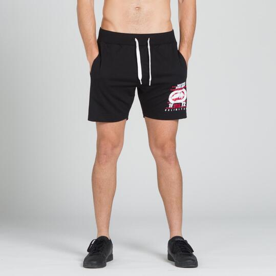 ECKO PURPOSE Pantalón Corto Negro Hombre