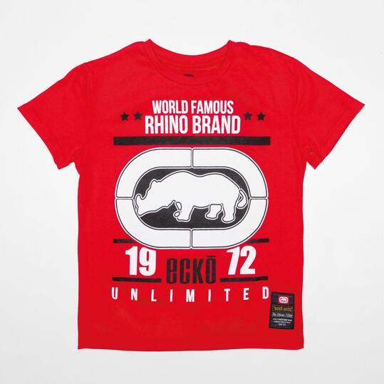 ECKO RANGER Camiseta Roja Niño (10-16)
