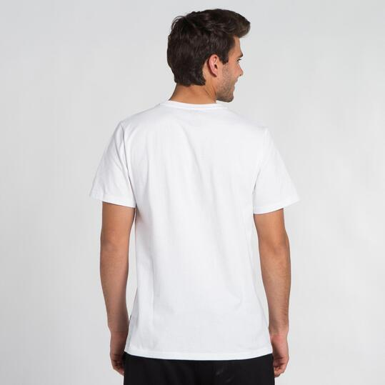 ECKO AAKO Camiseta Blanca Hombre