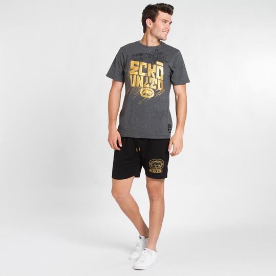 ECKO AAKO Camiseta Gris Hombre