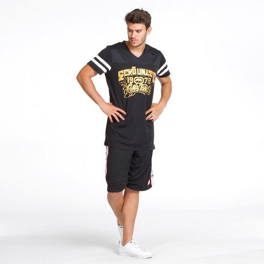 ECKO Camiseta Manga Corta Negra