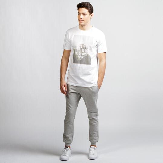 Camiseta Montaña SERVAL Blanco Hombre