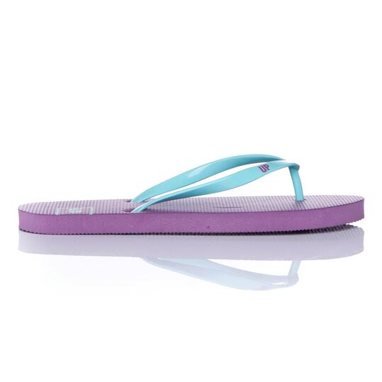 Chanclas Playa UP Morado Turquesa Mujer