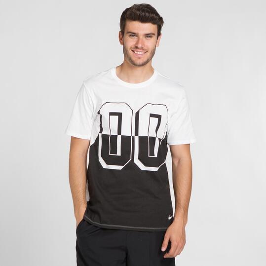NIKE DOUBLE ZERO Camiseta Blanca Hombre
