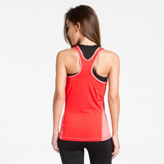 NIKE Camiseta Tirantes Coral Mujer