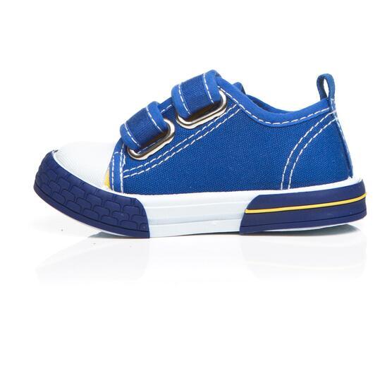 Zapatillas Lona NICOBOCO Azul Niño (19-27)