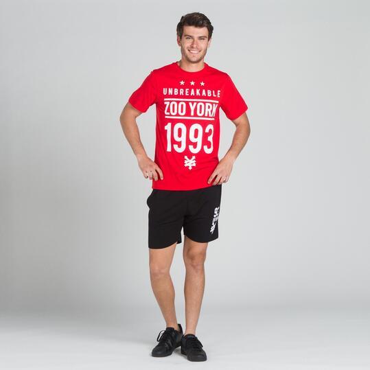 ZOOYORK JACKSON Camiseta Roja Hombre