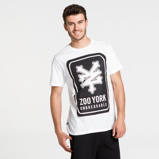 ZOOYORK Camiseta Blanca Hombre