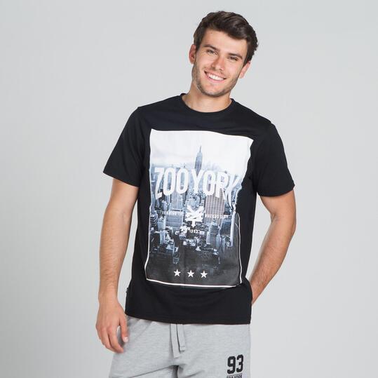 ZOOYORK TILDEN Camiseta Gris Oscuro Hombre
