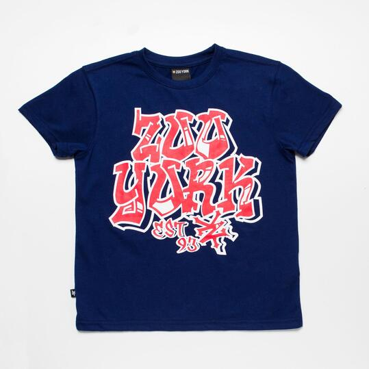 ZOOYORK Camiseta Azul Niño (10-16)