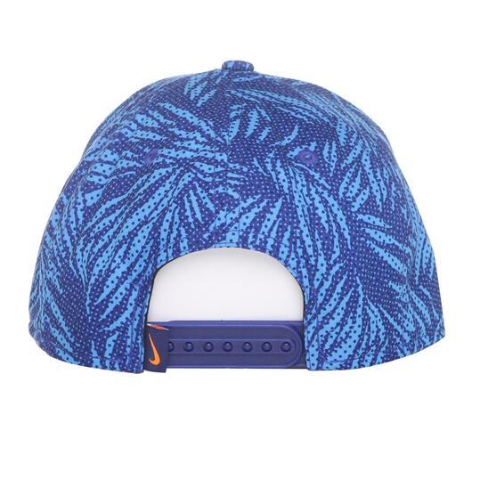 NIKE Gorra Plana Azul Niño