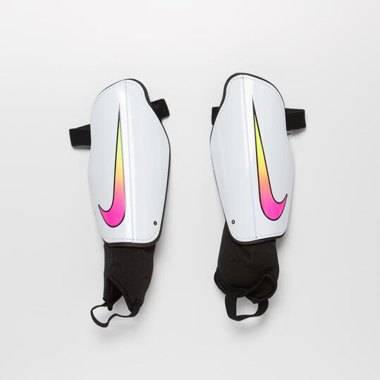 NIKE CHARGE 2.0 Espinillera Blanca Hombre