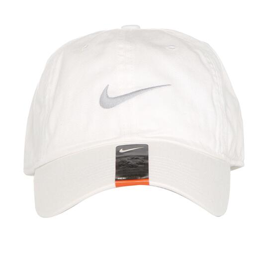 Nike Gorra Lona Blanca - BLANCO  2e11cd6b882