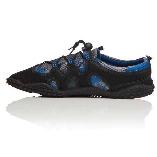 Aquashoes BORIKEN Negro Azul Hombre