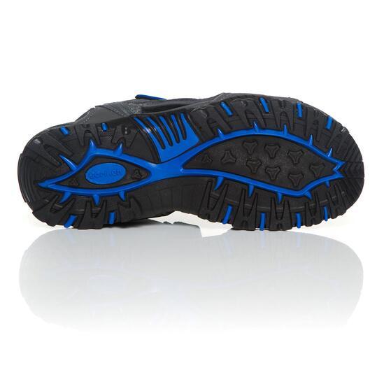 Sandalias Trekking BORIKEN Gris Azul Hombre