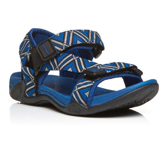 Sandalias Montaña BORIKEN Negro Azul Niño (36-39)
