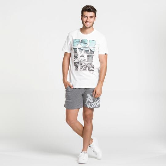 PUMA Camiseta Manga Corta Blanca Hombre