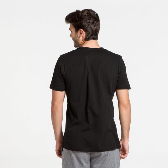 PUMA Camiseta Manga Corta Negro Hombre