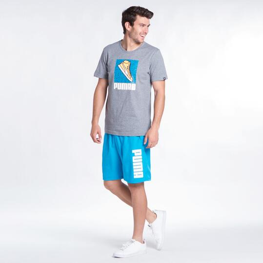 PUMA SNEAKER Camiseta Gris Hombre