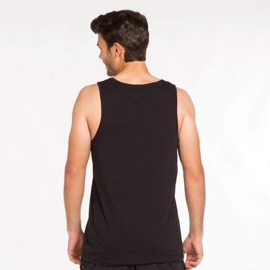 PUMA ESS LOGO Camiseta Tirantes Negra Hombre