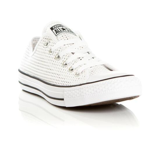 CONVERSE ALL STAR Zapatillas Lona Blancas Mujer