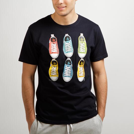 Camiseta Manga Corta TRUNK&ROOTS Marino Hombre