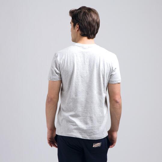 Camiseta Manga Corta RUSSELL Gris Hombre