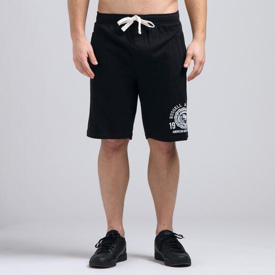 Pantalón Corto RUSSELL Negro Hombre