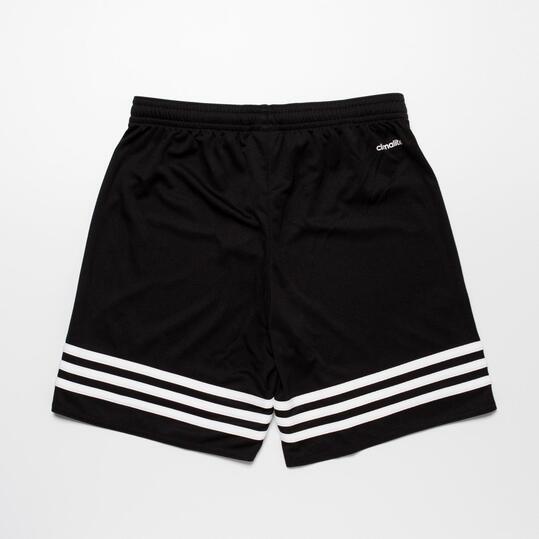 ADIDAS Pantalon Corto Fútbol Niño Negro