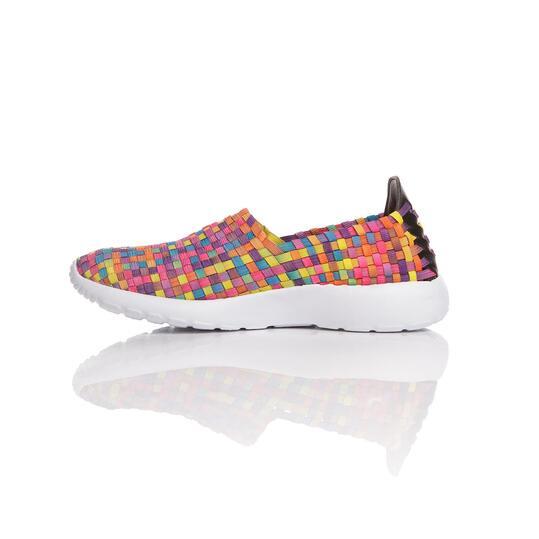 Sneakers Trenzadas SILVER SPLASH Multicolor Mujer
