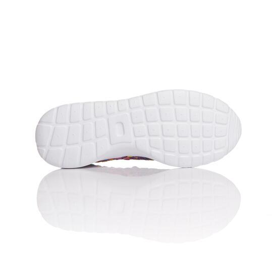 Sneakers Trenzadas SILVER SPLASH Morado Mujer