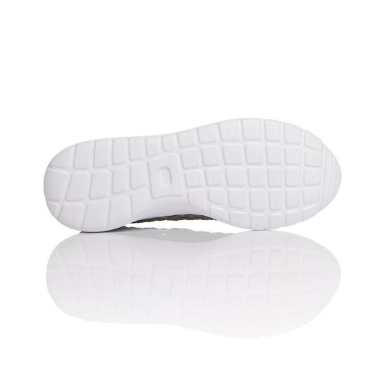 Sneakers Trenzadas SILVER SPLASH Plata Mujer