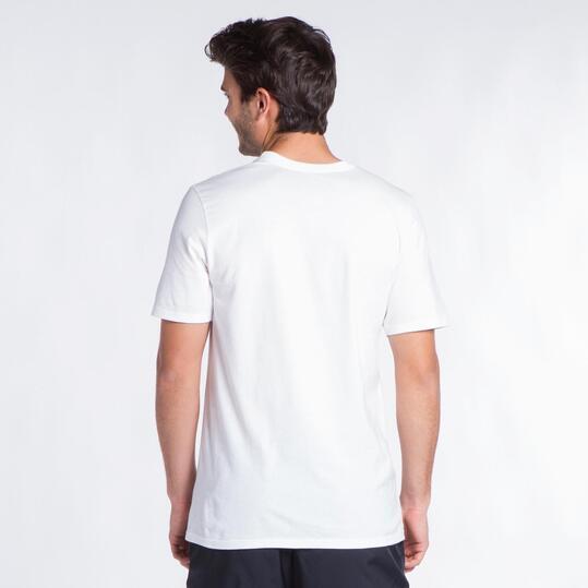 NIKE FRESH KICKS Camiseta Blanco Hombre