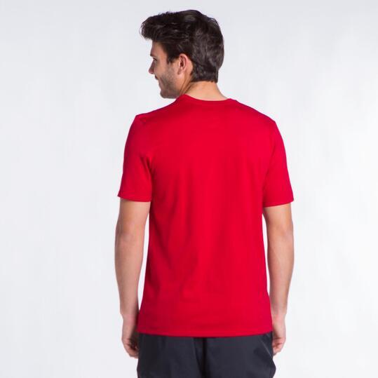NIKE FRESH KICKS Camiseta Rojo Hombre