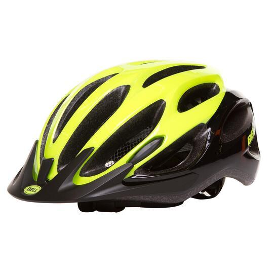 Casco Bicicleta BELL TRAVERSE Amarillo Negro