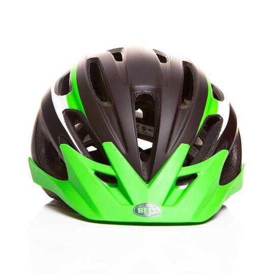 Casco Bicicleta BELL CREST Negro Verde