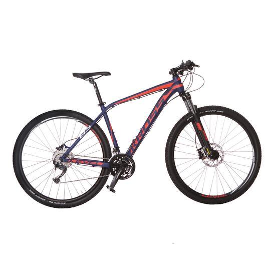 KROSS LEVEL B3 Bicicleta Montaña Azul Rojo