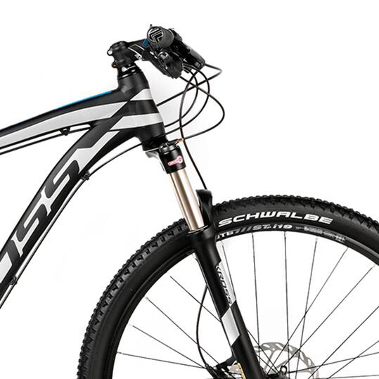 KROSS LEVEL B6 Bicicleta Montaña Negro Plata