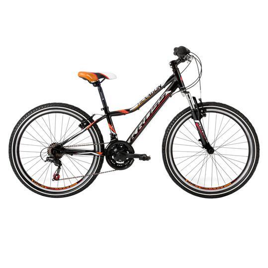 KROSS HEXAGON Bicicleta Montaña Negro Plata Niño