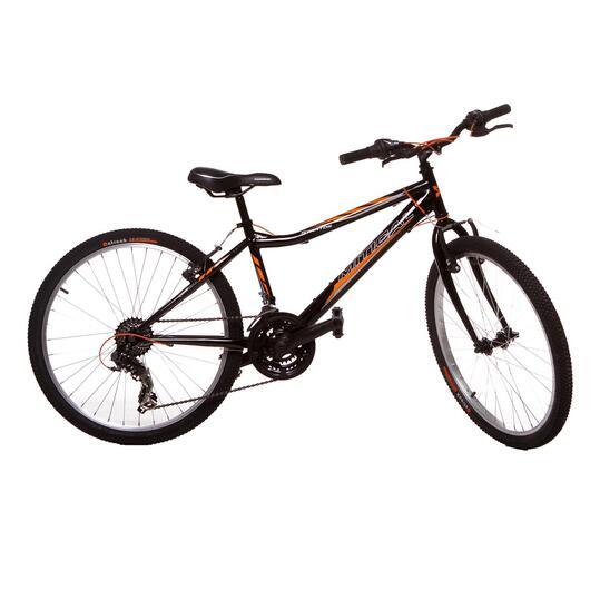 "Bicicleta Niño MÍTICAL STRATOS 24"" Negra"