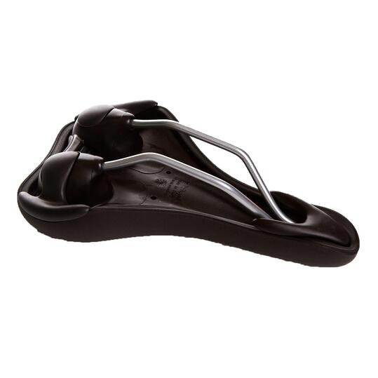 Sillín Bicicleta SELLE ROYAL RIO PLUS GEL Negro