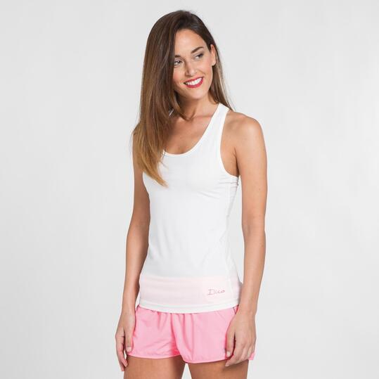 Camiseta Blanca Yoga ILICO Mujer