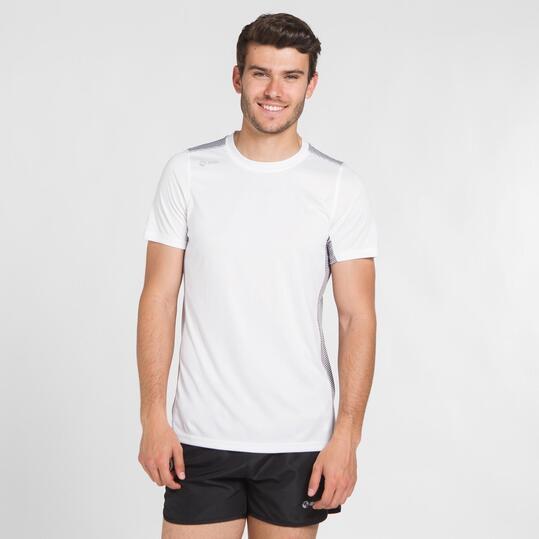 Camiseta Running IPSO Blanca Hombre